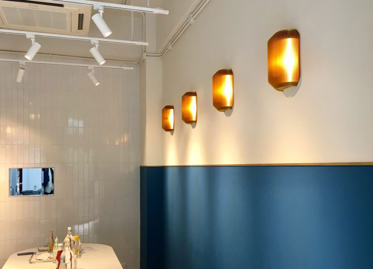 Contemporary wall light fixture eoq bramah large wall sconce bramah small pendant aloadofball Choice Image