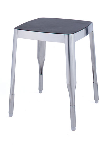 4a Stool Mirror Polished-EOQ