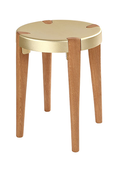 Otto Low Pale Oak stool - EOQ